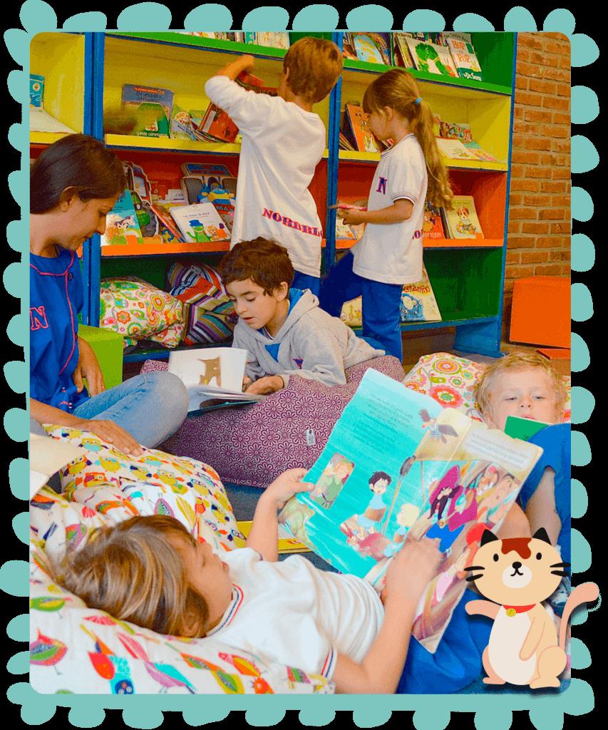 Nivel inicial en Colegio argentino, colegio bilingüe con sedes en Saavedra, Pilar y Mendoza
