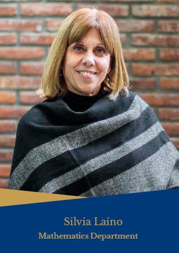 Silvia Laino - Department of mathematics